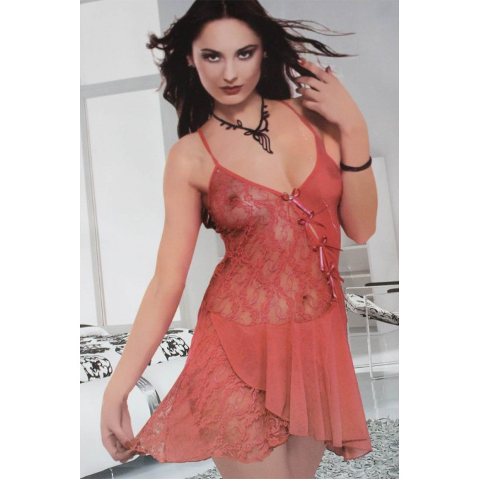 509b202e8d Short see through Sexy laced Nighty