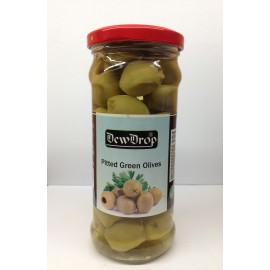 Dewdrop Pittedgreen Olives - 420g
