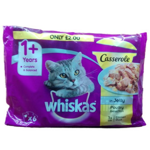 Whiskas Poultry Pouch - 85g