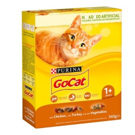 Go Cat Food Chicken Turkey And Vegetable - 340g