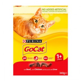 Go Cat Food Beef Chicken Liver - 340g