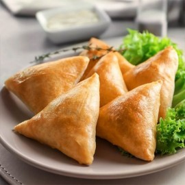 Chicken Samosa 12 Pcs