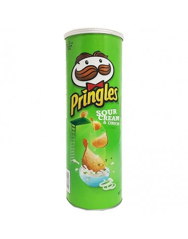 Pringles Sour Cream And Onion Chips 107g