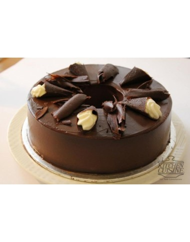 Dark Chocolate Cake - Kitchen Cuisine