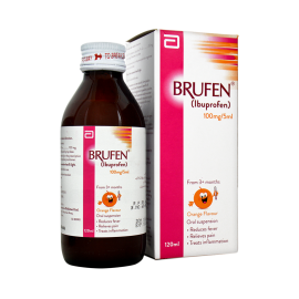 Brufen Suspension 100mg/5ml 120ml