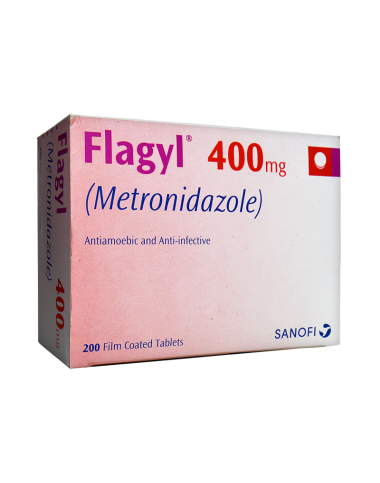 Flagyl (Metronidazole) 400mg (10 Tablets)