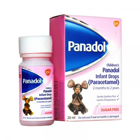 Panadol (Paracetamol) Infant Drops 20ml