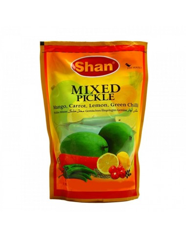 Shan Mixed Pickle 1kg Pouch