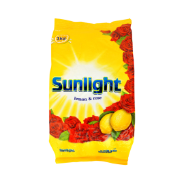 Sunlight Lemon & Rose Detergent 1kg