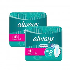 Always Ultra Thin Long Pads (8 Pcs)