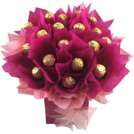 Ferrero Rocher Chocolate Bouquet Magenta