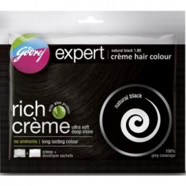 Godrej Creme Hair Color - Natural Black
