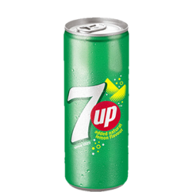 7up Can 250 Ml