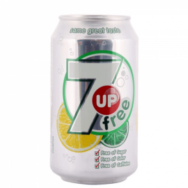 7up Diet Can 330 Ml