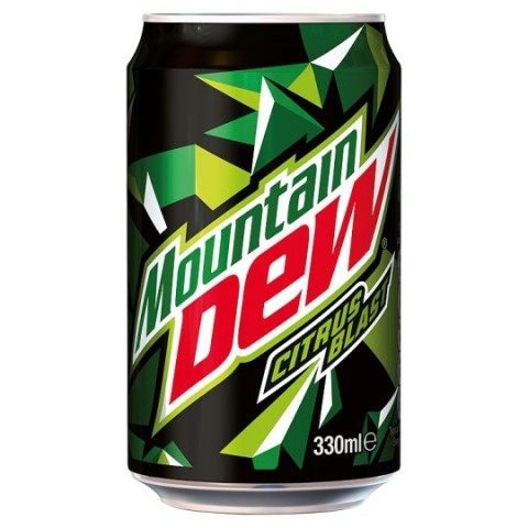 Mountain Dew Can 330ml