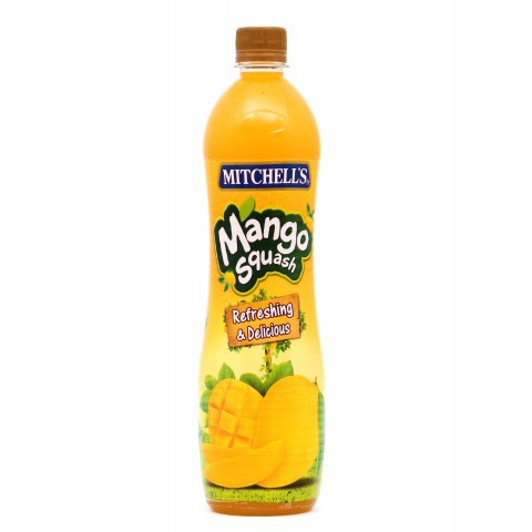 Mitchell's Mango Squash 800ml