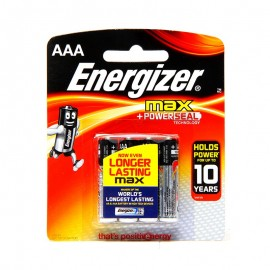 Energizer Max Cell Aaa (pack Of 4)