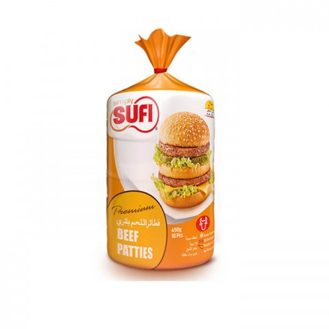 Simply Sufi Beef Patties - 450g