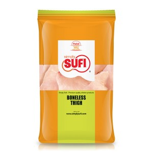 Simply Sufi Chicken Boneless Thigh - 500g