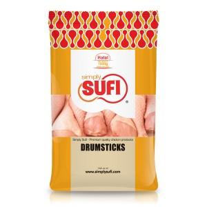 Simply Sufi Chicken Drumsticks - 1000g