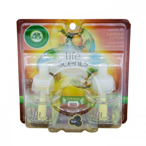 Air Wick Air Freshener Sunshine Cotton 40ml