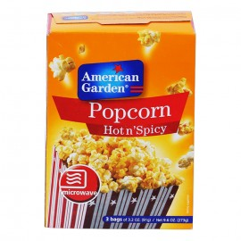 American Garden Pop Corn Hot And Spicy 273g