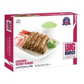 Big Bird Chicken Seekh Kabab - 540g
