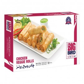 Big Bird Chicken Veggie Roll 540g