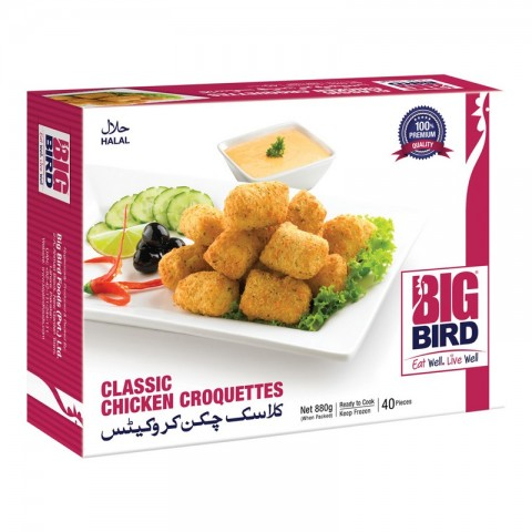 Big Bird Classic Chicken Croquettes 880g