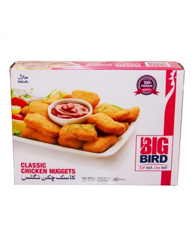 Big Bird Classic Nuggets 880g