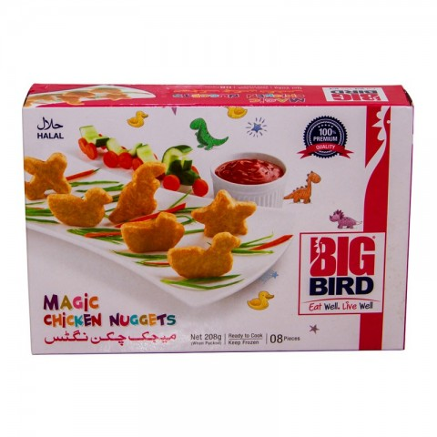 Big Bird Magic Chicken Nuggets 208g