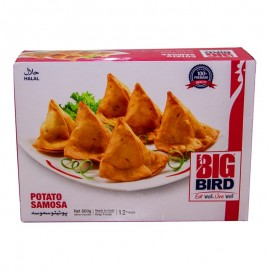 Big Bird Potato Samosa 600 Gm
