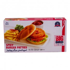 Big Bird Spicy Burger Pattie Small 280g