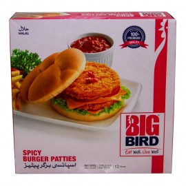 Big Bird Spicy Burger Patties 840g