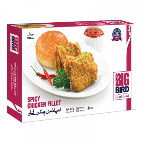 Big Bird Spicy Chicken Fillet 460g