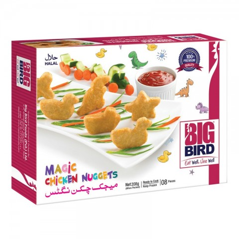 Big Bird Spicy Chicken Nuggets 208g