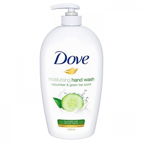 Dove Cucumber And Green Tea Scent Hand Wash 500ml