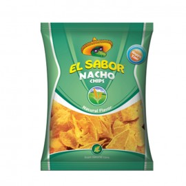 El Sabor Nacho Chips Natural 100 Gm