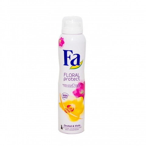 Fa Floral Protect Body Spray Orchid & Viola 200ml