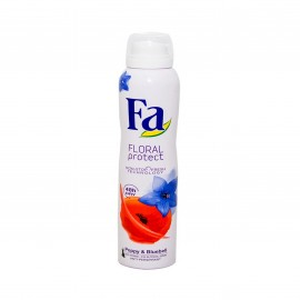 Fa Floral Protect Body Spray Poppy & Bluebell 200ml
