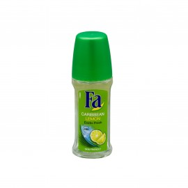 Fa Roll On Caribbean Lemon 50ml
