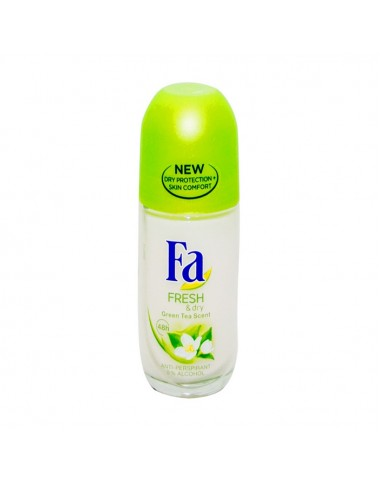 Fa Roll On Fresh Dry Green Tea 50ml