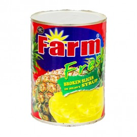 Farm Fresh Broken Slices In Heavy Syrup 567g