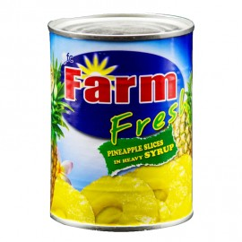 Farm Fresh Pineapple Slices In Heavy Syrup 567g