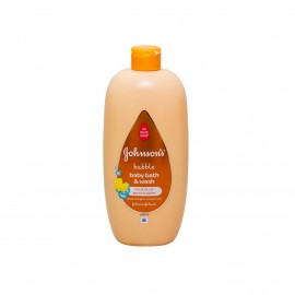 Johnson's Baby Bath Bubble And Wash 750ml