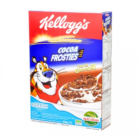 Kellogg's Cocoa Frosties With Real Grain 350g