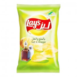 Lay's Salt & Vinegar Chips 40g
