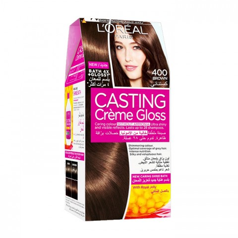 L'Oreal Casting Creme Gloss Brown 400 Pc
