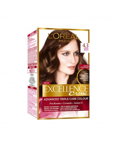L'Oreal Hair Color Excellence Creme 4.3