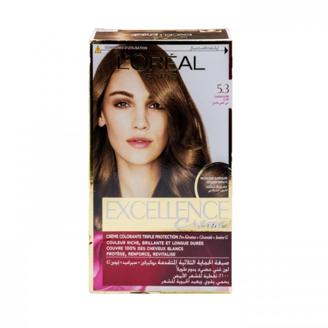 L'Oreal Hair Color Excellence Creme 5.3